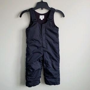 Children's Place Black Overalls Snowpants 2T